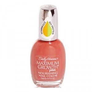 Buy Sally Hansen Maximum Growth Plus Nail Color - Fair Fawn - Nykaa