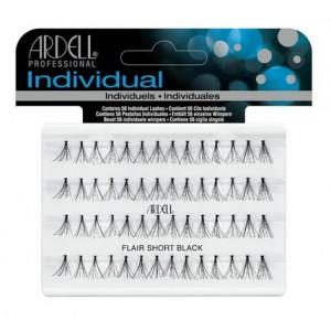 Buy Ardell Individual Flare Short Black Eye Lashes - Nykaa