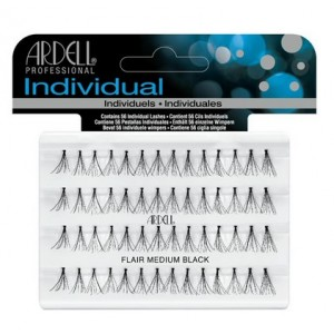 Buy Ardell Individual Flare Medium Black Eye Lashes - Nykaa