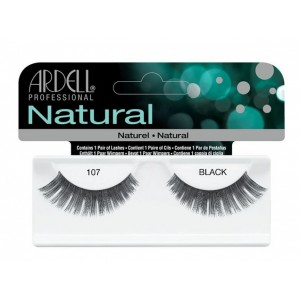 Buy Ardell Natural Strip Lashes  - 107 Black - Nykaa