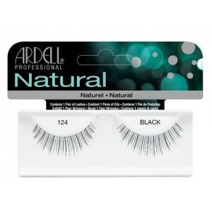 Buy Ardell Natural Strip Lashes - 124 Black - Nykaa