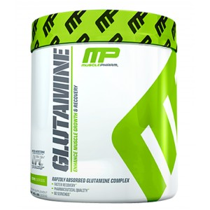Buy Muscle Pharm Glutamine Unflavored Flavour - 60 Serv - Nykaa