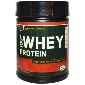 Buy Optimum Nutrition Gold Standard 100% Whey Double Rich Chocolate - 1 lbs - Nykaa