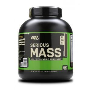 Buy Optimum Nutrition (ON) Serious Mass Gainer (Chocolate) - Nykaa
