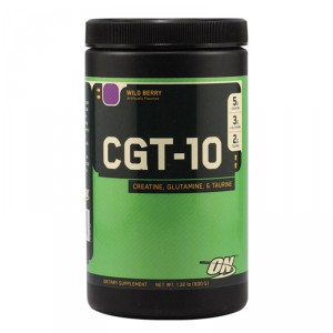 Buy Optimum Nutrition CGT-10 Creatine Glutamine and Taurine Wild Berry - 1.32 lbs - Nykaa