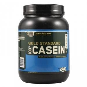 Buy Optimum Nutrition Gold Standard 100% Casein Cookies & Cream - 2 lbs - Nykaa