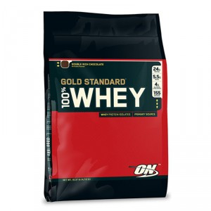 Buy Optimum Nutrition Gold Standard 100% Whey Double Rich Chocolate - 10 lbs - Nykaa