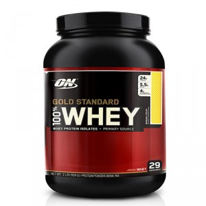 Buy Optimum Nutrition Gold Standard 100% Whey Banana Cream - 2 lbs - Nykaa