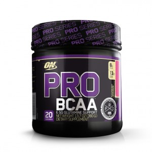 Buy Optimum Nutrition (ON) Pro BCAA & 5G Glutamine Support Powder - 20 Servings (Raspberry Lemonade) - Nykaa