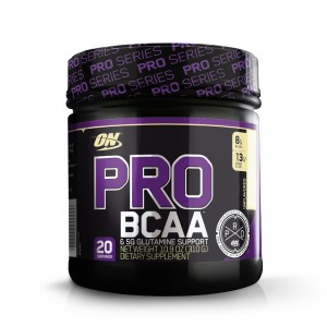 Buy Optimum Nutrition (ON) Pro BCAA & 5G Glutamine Support Powder - 20 Servings (Unflavored) - Nykaa