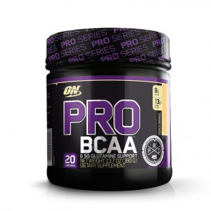 Buy Optimum Nutrition (ON) Pro BCAA & 5G Glutamine Support Powder - 20 Servings (Peach Mango) - Nykaa