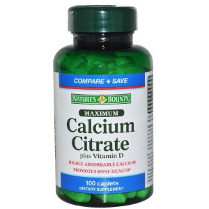 Buy Nature's Bounty Maximum Calcium Citrate Plus Vitamin D - Nykaa