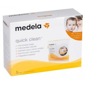 Buy Medela Quick Clean Microwave Bags - 5 Pieces - Nykaa