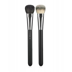 Buy M.A.C Split Fibre Cheek Brush - 128 - Nykaa