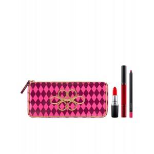 Buy M.A.C Nutcracker Sweet Red Lip Bag - Nykaa