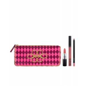 Buy M.A.C Nutcracker Sweet Nude Lip Bag  - Nykaa