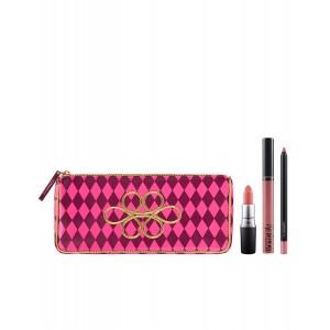 Buy M.A.C Nutcracker Sweet Nude Lip Bag  - Nykaa