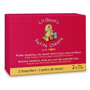 Buy Caprina Fresh Goat's Milk Lil Goat's Soap (Pack of 2) - Nykaa