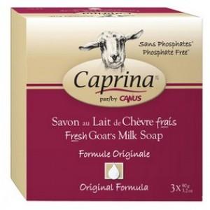 Buy Caprina Fresh Goat'S Milk Soap Super Pack-Formule Originale (Pack of 3) - Nykaa