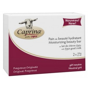 Buy Caprina Fresh Goat's Milk Moisturizing Bar- Original Formula (Pack Of 2) - Nykaa