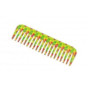 Buy FeatherFeel Printed Yellow Daisy Shampoo Comb - Nykaa