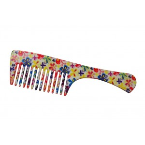 Buy FeatherFeel Printed My Butterfly Handle Comb - Nykaa