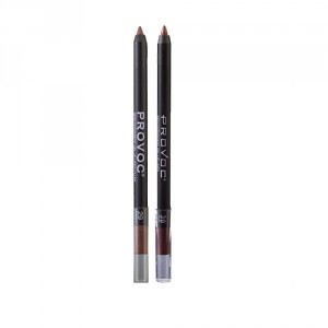 Buy Provoc Semi-Permanent Gel Lip Liner Filler - 30 Desired + 29 Cinnamon & Sugar - Nykaa