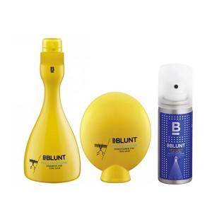 Buy Herbal BBLUNT Full On Volume Shampoo + Conditioner, For Fine Hair + Mini Spotlight Hair Polish - Nykaa