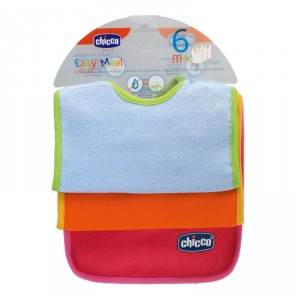 Buy Chicco Cotton Bibs (6M+) - Nykaa