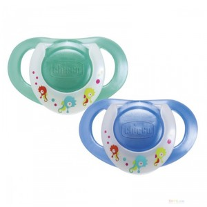 Buy Chicco Soother Physio Silic 12M+ 2Pcs - Nykaa