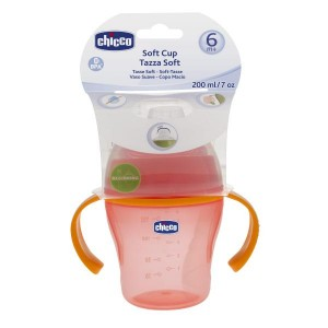 Buy Chicco Soft Cup (6M+) - Red - Nykaa