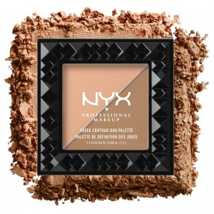 Buy NYX Professional Makeup Cheek Contour Duo Palette - Nykaa