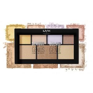 Buy NYX Professional Makeup Strobe of Genius Illuminating Palette - Nykaa