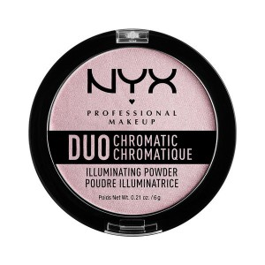 Buy NYX Professional Makeup Duo Chromatic Illuminating Powder - Nykaa