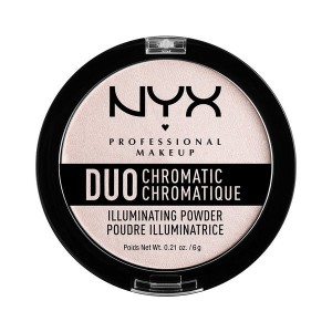 Buy NYX Professional Makeup Duo Chromatic Illuminating Powder - Nykaa