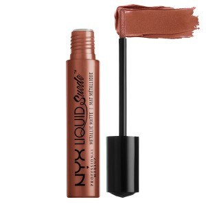 Buy NYX Professional Makeup Liquid Suede Metallic Matte Cream Lipstick - Nykaa