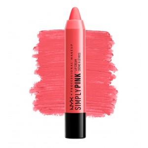 Buy NYX Professional Makeup Simply Pink Lip Cream - Nykaa
