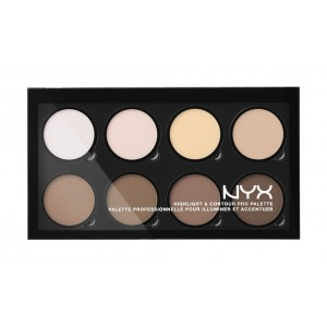 Buy NYX Highlight & Contour Pro Palette Matte Finish - Nykaa
