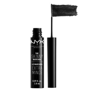 Buy NYX Professional Makeup The Skinny Mascara - Black - Nykaa