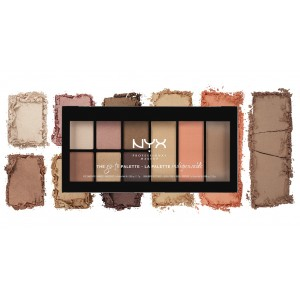 Buy NYX Professional Makeup Go To Palette - Nykaa
