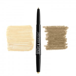 Buy NYX Professional Makeup Sculpt & Highlight Brow Contour - Nykaa