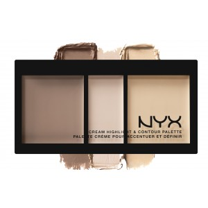 Buy NYX Cream Highlight & Contour Palette - Nykaa