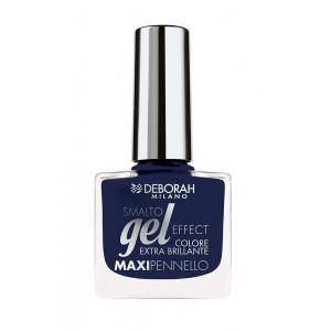 Buy Deborah Gel Effect Nail Enamel- 51 By Night Blue - Nykaa