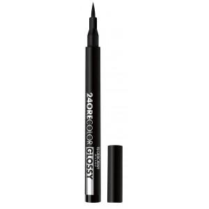 Buy Deborah 24 Ore Color Glossy Eyeliner - 1 Black - Nykaa