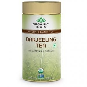 Buy Organic India Darjeeling Tea Tin (100gm) - Nykaa