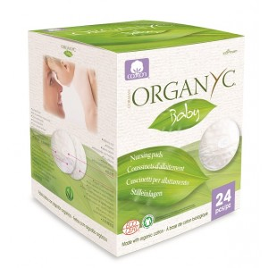 Buy Organyc 100% Organic Cotton Baby Nursing Pads - 24 Pads - Nykaa