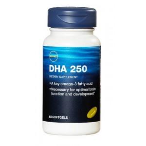 Buy GNC Dha 250Mg (60 Softgel Capsules) - Nykaa