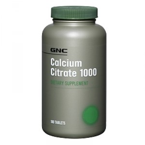 Buy Herbal GNC Calcium Citrate 1000 (180 Tabs) - Nykaa