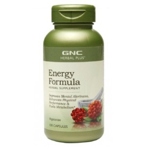 Buy GNC Herbal Plus Energy Formula (100 Caps) - Nykaa