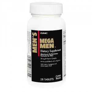 Buy GNC Mens Mega Men (28 Tablets) - Nykaa